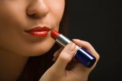 Labios y lipstick-5 Fotos de archivo libres de regalías