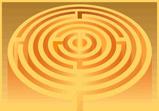 Labirinto Imagem de Stock Royalty Free