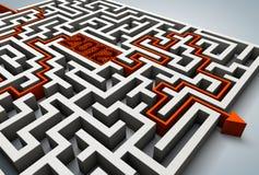 Labirinto 2012 Imagens de Stock