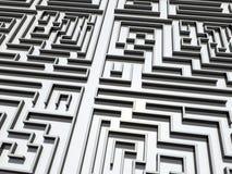 Labirinto ilustração royalty free