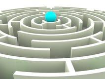 Labirinto. Fotografie Stock