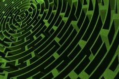 Labirinto Foto de Stock Royalty Free