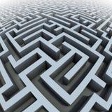 labirinto 3d illustrazione di stock