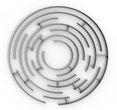 labirinto Fotografia de Stock