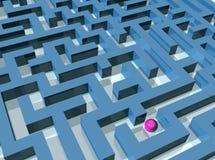 Labirinto Foto de Stock