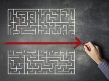 labirinto illustrazione vettoriale