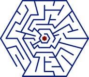 Labirinto illustrazione di stock