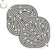 Labirinto abstrato Fotos de Stock Royalty Free