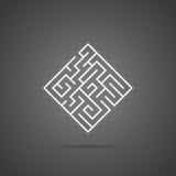 Labirinto astratto Fotografia Stock