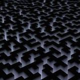 Labirinto binário Imagem de Stock