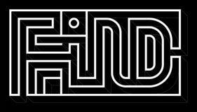 Labirinto cinzento criativo da palavra do achado-Eglish fotos de stock royalty free