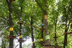 Labirinto da corda Fotografia de Stock