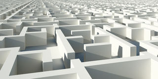 Labirinto da infinidade Foto de Stock Royalty Free