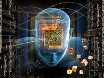 Labirinto da mente ilustração do vetor