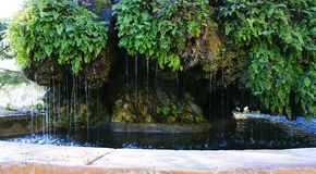 Labirinto de Horta da fonte Fotos de Stock Royalty Free
