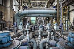 Labirinto dei tubi Fotografia Stock