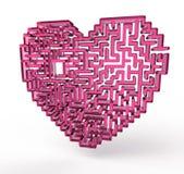 Labirinto del cuore illustrazione vettoriale
