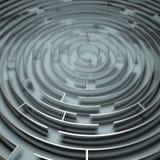 Labirinto del metallo Fotografie Stock