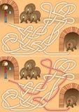 Labirinto della cantina Immagini Stock