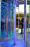 Labirinto dello specchio Fotografie Stock Libere da Diritti