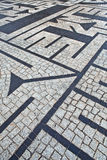Labirinto di pietra Fotografia Stock