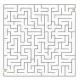 Labirinto di vettore Fotografie Stock