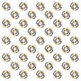 Labirinto do círculo com cor elegante Imagem de Stock Royalty Free