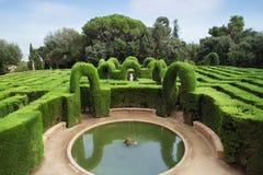 Labirinto do parque fotos de stock royalty free