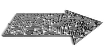 Labirinto do sentido Imagem de Stock Royalty Free