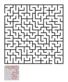 Labirinto, enigma del labirinto per i bambini Immagini Stock Libere da Diritti