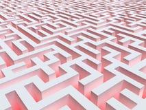 Labirinto fantástico Imagens de Stock Royalty Free