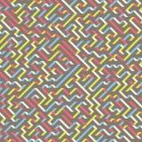 labirinto Illustrazione di vettore del labirinto Immagini Stock Libere da Diritti