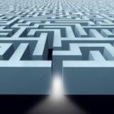 Labirinto infinito do labirinto Imagem de Stock