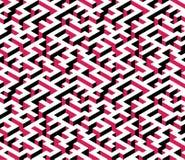 Labirinto, labirinto - modello senza fine isometrico Vettore Immagine Stock Libera da Diritti