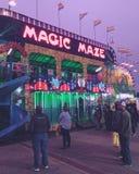 Labirinto magico fotografia stock libera da diritti
