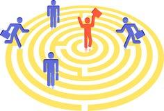 Labirinto a procurarar ilustração do vetor