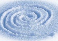 Labirinto a spirale Fotografia Stock Libera da Diritti