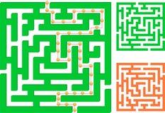 Labirinto verde Fotografia Stock Libera da Diritti