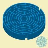 Labirinto (vettore) Fotografia Stock
