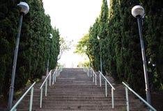 Labiryntu park w Barcelona Fotografia Stock