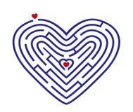 Labitynt w formie serce Obraz Stock