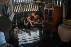 Lablae, nascosto dal museo del villaggio di vista nella città di Utta Immagini Stock Libere da Diritti