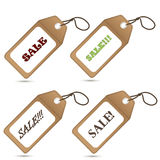Lable tag sale Stock Photography