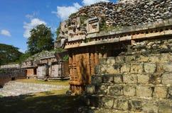 Labna  archaeological site in Yucatan Peninsula, Mexico. Stock Photos