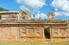 Labna  archaeological site in Yucatan Peninsula, Mexico. Royalty Free Stock Image