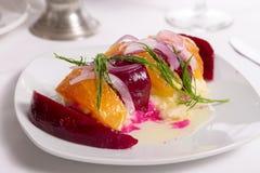Labneh Citrus Salad Stock Images
