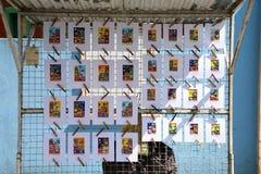 LaBoca, distrito en Buenos Aires foto de archivo libre de regalías