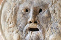 LaBocca della Verita (engelska: munnen av sanning) Fotografering för Bildbyråer