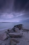 Laboe Dusk Royalty Free Stock Images