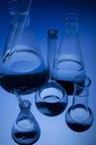 labolatory的玻璃器皿 图库摄影